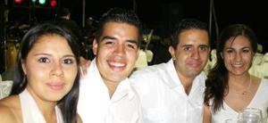 <u><i> 05 de Septiembre de 2004</u></i><p>  Victoria Casas, Manuel Guzmán, Jesús Delgado y María Elena Guajardo.
