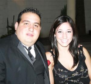 Armando Valdez y Romina Canedo.
