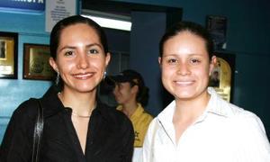 Zayra Guzmán y Laura Hernández.