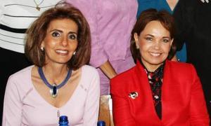 <u><i> 09 de Septiembre de 2004</u></i><p>  Katy de Zreik y Paty de Arizpe.