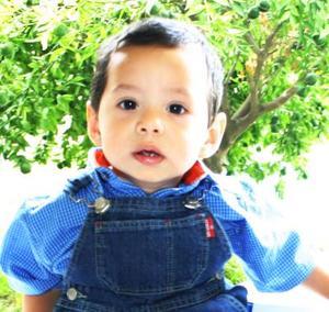 Pedro Núñez Dovalí festejó su primer año de vida, con un divertido convivio infantil.