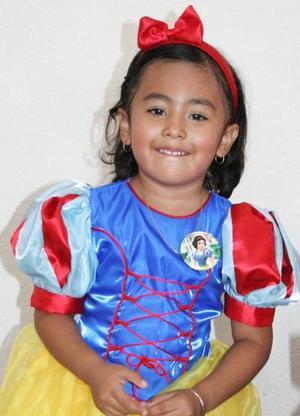 Sofy Helena Holguín festejó su cuarto cumpleñaos, con una divertida fiesta infantil.
