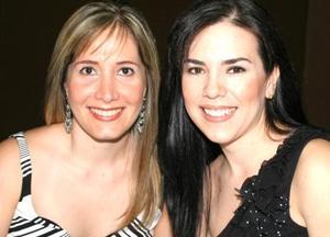 Olga Sánchez de Pérez y Ana Laura Chávez Suárez.