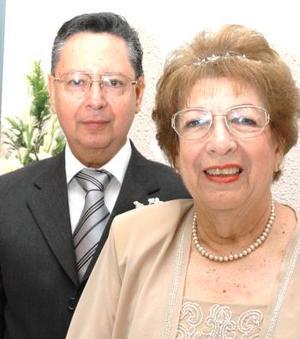 Carlos Obregón y Carolina Jover Osorio.