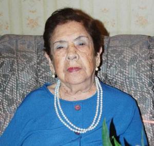 Regina Frayre Vda. de Orozco festejó su cumpleaños, con un un agradable convivio.