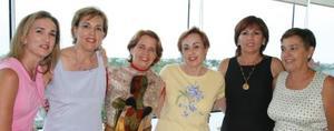 María Luisa, Goga, Marcela, Ana Sofía, Tere, susana y Lisy Dingler.