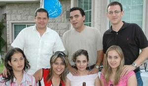 <u><i> 11 de septiembre de 2004</u></i><p>  Paty y bruno Bozzetto, Etna Loera, Kitin Hernández, Poly Ramos y Sonia y Javier Quintero.