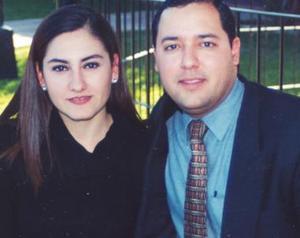 Daniel Mora Maynes y Estela Meraz Magaña.