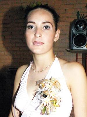 Amelia Ríos González, captada en su despedida de soltera.