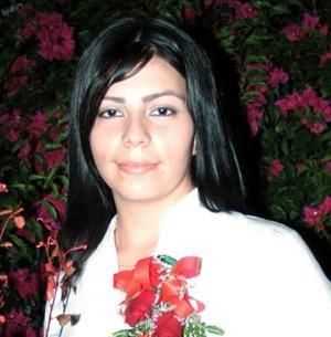 Ana María Torres Ortega, captada en su despedida de soltera
