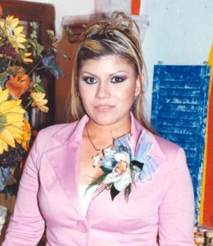 Nina Lizeth Aguilar, en su despedida de soltera