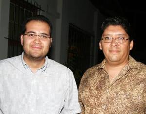 Adolfo Ávalos y Fernanado Gutiérrez.