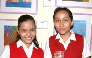 KArina Salazar y Ana Valeria Delgadillo