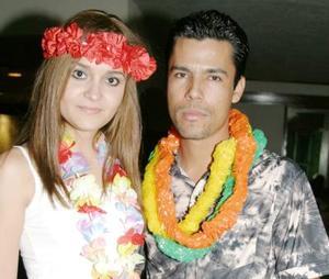 Paola Ibarra y Roy Robles.