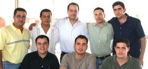 Manuel González festejó el fin de semana pasado su cumpleaños en la Granja Santa Fe.