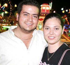 Víctor Michael Dabdoub y Sofía Arriola Casas.