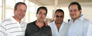 <u><i> 12 de septiembre de 2004</u></i><p>  Luis Sordo, Carlos Delgado, Ramón Franco y  Manuel González.