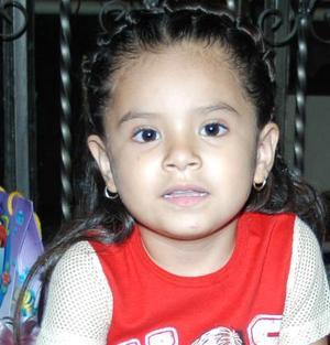 Itali Alexandra Carranza Martínez festejó cu cumpleaños con un convivio infantil.