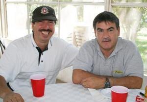 Alejandro Diez y Guadalupe Gutiérrez.