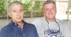 Enrique Menéndez y Luis Ávila.