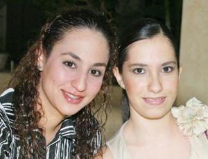 Tania Mansur y Alejandra Aguilar.
