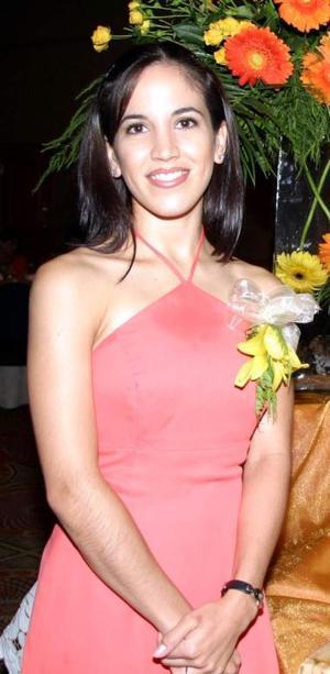 <u><i> 15 de Septiembre de 2004</u></i><p>  Elisa Yáñez Bustamante en su despedida de soltera.