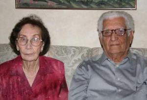 Leobaldo Flores y María de Jesús Márquez festejaron 60 años de casados en días pasados.