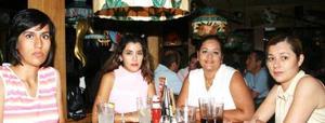Ana Graham, Maya Sandoval, Cynthia Herrera y Ana Laura Beltran del Río.