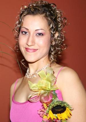 Ana silvia Pérez, captada en su despedida de soltera.