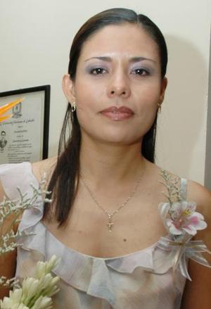 Ola Olivia Tea Mejía, captada en su despedida de soltera.