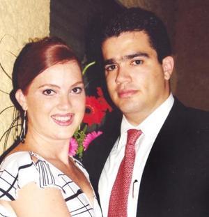 José Lázaro Peña Ruiz y Karla Sánchez Stelzer