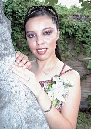 <u><i> 18 de Septiembre de 2004</u></i><p>  Gloria Aidé Delgadillo Valenzuela, captada el día de su despedida de soltera.