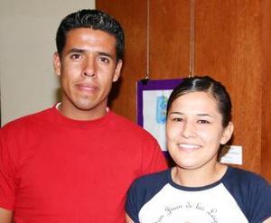 Jesús García y Guadalupe Esquivel.