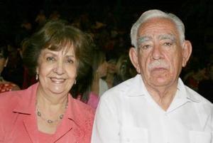 Soledad Llamas Anaya y Ricardo Anaya Pinocelly.
