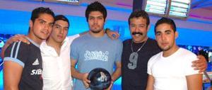 César Omar Álvarez, Adán Guzmán, Rolando Gómez, Rolando Cruz y Alberto Cruz.