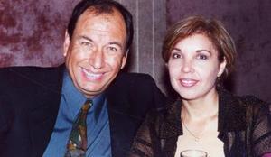 Luis Enrioque Montes Castañeda y María del Carmen Ruelas de Montes, en un grato festejo social.
