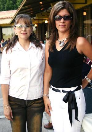 Mara de Borrego y Ana de Gamboa.