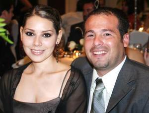 Ofelia López y Javier de Hoyos.