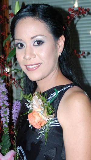 Cristina Pizarro Serna, en su primera despedida de soltera.