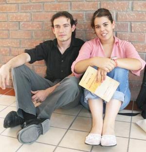 Isacc González y Ana Zarzosa.