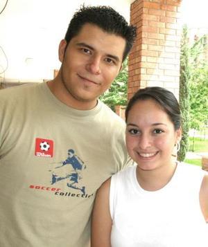 Iván Flores y Liliana Vázquez.