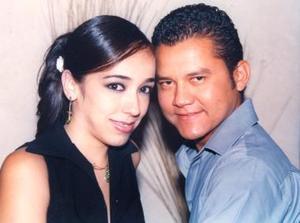 Ana Gabriela Carmona y Julio Ignacio Enríquez Martínez.
