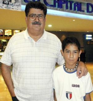 Jorge González y Tomy Ramírez.