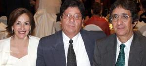 <u><i> 23 de septiembre de 2004</u></i><p>  Estela de Camarillo, Guillermo Camarillo y Ramiro Arias Anaya.