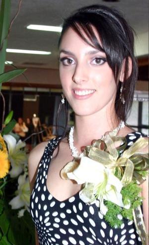 Brenda Gutiérrez Liceaga contraerá matrimonio con Fernando Montaña Vázquez, el próximo 16 de Octubre.