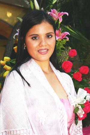 <u><i> 24 de Septiembre de 2004</u></i><p>   Zurhia Barrientos, captada en su despedida de soltera.