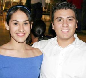 Iuy Sánchez y Alejandro Pérez.