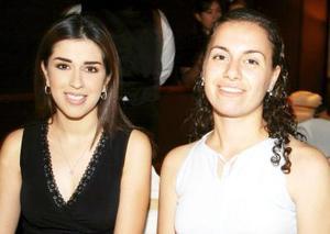 Margarita Saracho y Susana Giacomán.