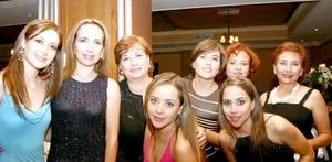 Abril González, Carmen Rodríguez, Sofía Rodríguez, Rebeca Rodríguez, Alicia Rodríguez, Fernanda y Alicia Jaime, captadas en recientemente.
