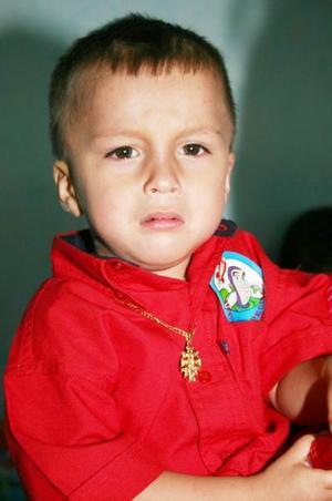 Alan  Alejandro Cheang Ibarra celebró su segundo cumpleñaos, con un convivio infantil.